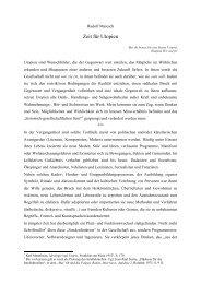 Zeit für Utopien - Das Buch der Synergie