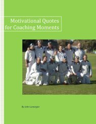 Motivational Quotes for Coaching Moments