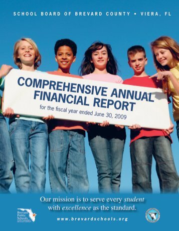 COMPREHENSIVE ANNUAL FINANCIAL REPORT - MyFlorida.com