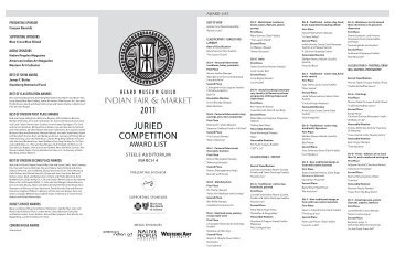 JURIED COMPETITION 2011 - Heard Museum