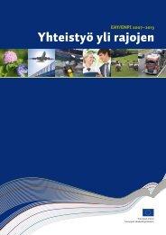 Yhteistyö yli rajojen (pdf) - Rakennerahastot.fi