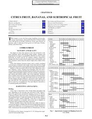 CITRUS FRUIT, BANANAS, AND SUBTROPICAL FRUIT