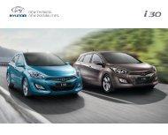 Hyundai i30 Modellprospekt