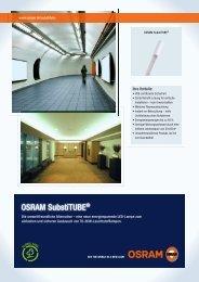 OSRAM SubstiTUBE® - Sonepar