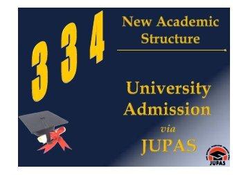 JUPAS Operations