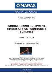woodworking equipment, timber, office furniture & sundries