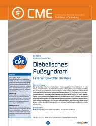 Leitliniengerechte Therapie bei diabetischem Fußsyndrom