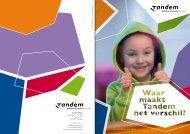JAARVERSLAG 2011 - Tandem Welzijn