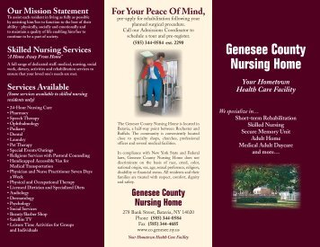 Brochure - Genesee County