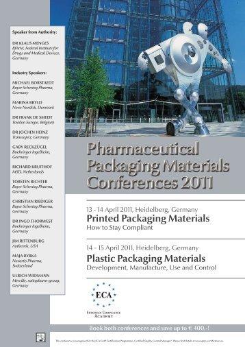 Printed Packaging Materials Plastic Packaging Materials - European ...