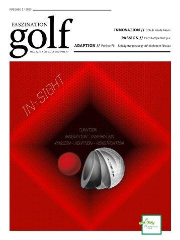 Faszination Golf, Ausgabe 01/2013