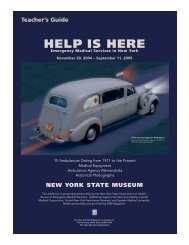 Help is Here - New York State Museum - New York State Education ...