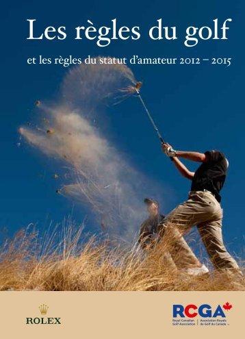 Les règles du golf - Sympatico