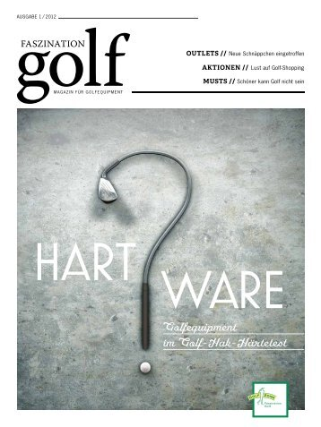 Faszination Golf, Ausgabe 01/2012