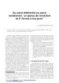 Du calcul différentiel au calcul variationnel - Institut de ... - Page 2
