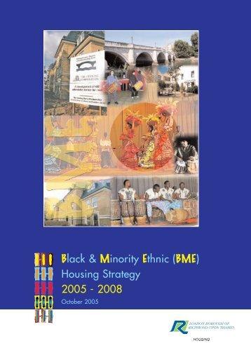(BME) Housing Strategy - London Borough of Richmond upon Thames