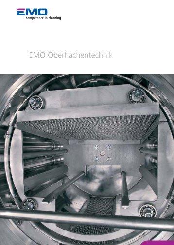 EMO OT Brochure commerciale (PDF) - EMO Oberflächentechnik