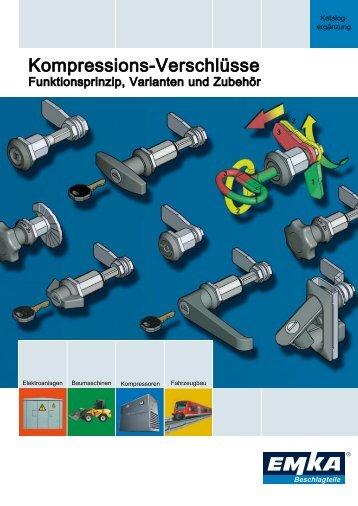 Kompressions-Verschlüsse - EMKA Beschlagteile