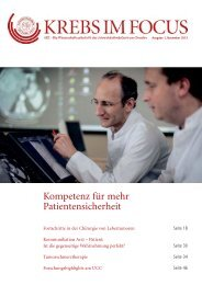 Download... - Universitäts KrebsCentrum Dresden