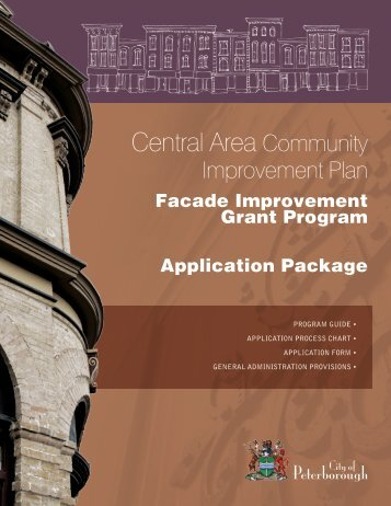 Facade Improvement Grant Program - City of Peterborough