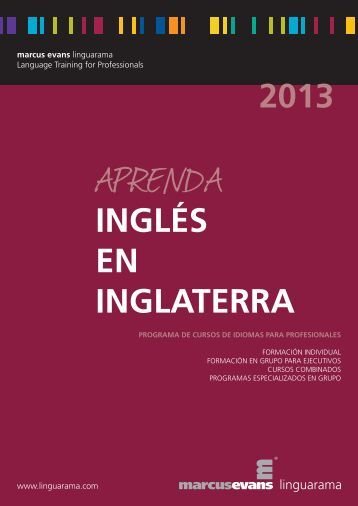 INGLÉS EN INGLATERRA 2013 - Linguarama