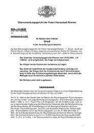1 A 148/04 (pdf, 60.6 KB) - Oberverwaltungsgericht Bremen
