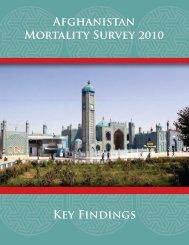 Afghanistan Mortality Survey 2010 [SR186] - Measure DHS