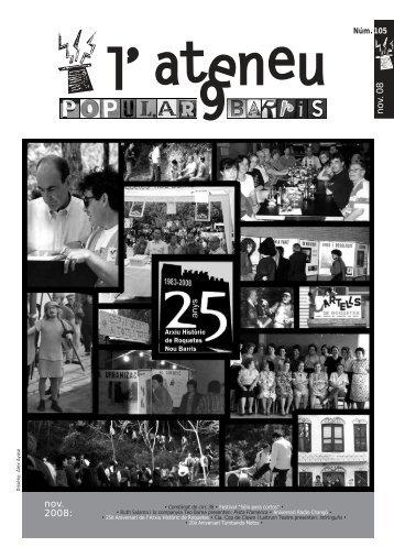 nov. 2008: no v. 08 - Ateneu Popular 9 Barris