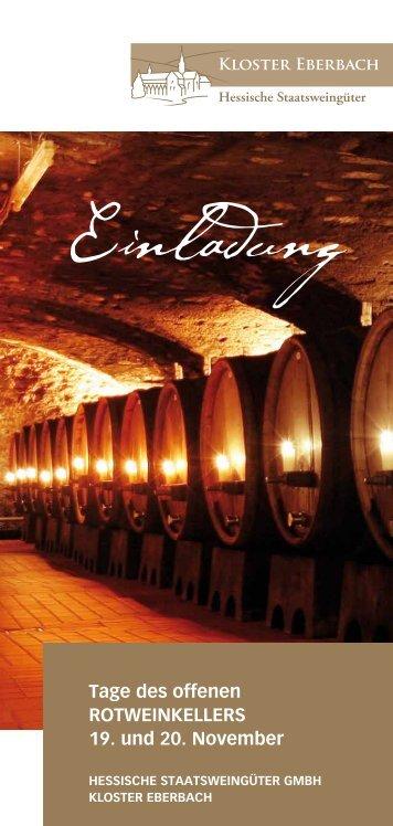 Einladung - Rheingau