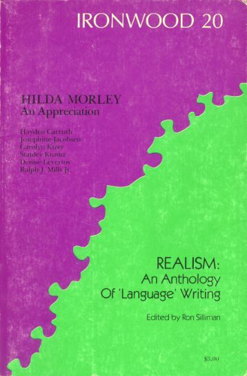 Realism: An Anthology of 'Language' Writing
