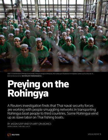 MYANMAR-ROHINGYAS