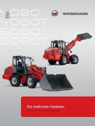 Die kraftvollen Radlader. - Weidemann GmbH