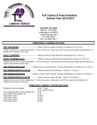 to view the 2012-2013 Full Tuition and Fee Schedule.