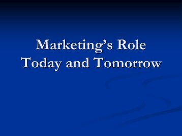 Marketing's Role Today and Tomorrow.pdf - It works!