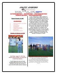 athletic adventures 9-3-12 - It works! - Paulding County Schools