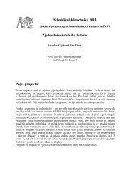 Středoškolská technika 2013 Zjednodušení stolního fotbalu Popis ...