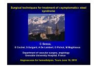71c Sessa Tours 2010 hand ischemia strategy.ppt [Lecture ... - SFAV