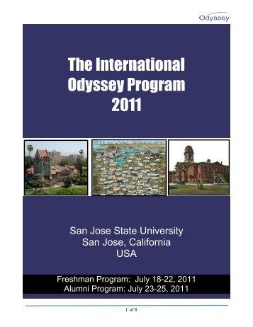 Odyssey-Brochure-201.. - The Odyssey Program