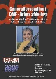 Generalforsamling i DMF - Århus afdeling - Basunen