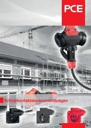 Schutzkontaktsteckvorrichtungen - pc electric