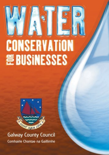 Water Conservation for Businesses - Galway County Council