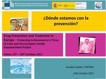 ¿Dónde estamos con la prevención? - Irefrea