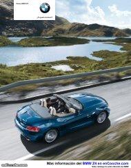 Catálogo del BMW Z4 - enCooche.com