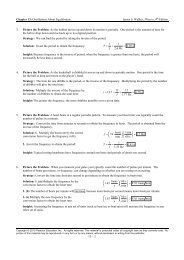 Chapter 13: Oscillations About Equilibrium James S. Walker ...