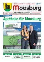 Apotheke für Moosburg - Marktgemeinde Moosburg