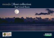 mondo | floor collection - EMSLAND-PANEELE
