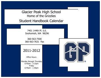 2011-2012 Activity Calendar - Glacier Peak High School