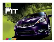 Download Brochure - Goudy Honda
