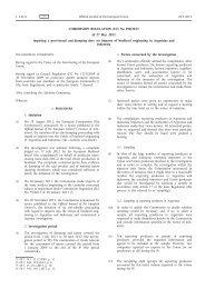 Commission Regulation (EU) No 490/2013 of 27 May ... - EUR-Lex