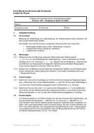 O14 - Ernst-Moritz-Arndt-Universität Greifswald